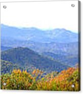 Blueridge Parkway Mm404 Acrylic Print