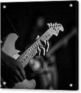 Blues Chord Acrylic Print