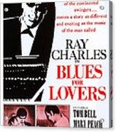 Blues For Lovers, Aka Ballad In Blue Acrylic Print