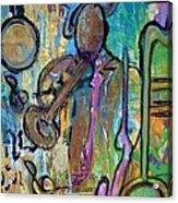 Blues Jazz Club Series Acrylic Print