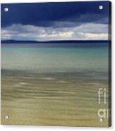 Beautiful Blues Over Mackinac Island  Acrylic Print
