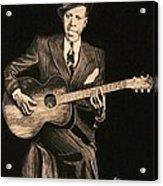 Blues Originator  Acrylic Print