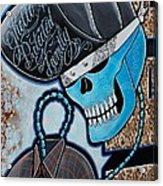 Blueskully Acrylic Print