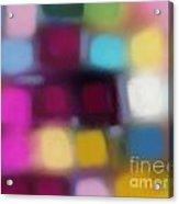 Blur II Acrylic Print