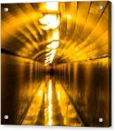 Blur Tunnel Acrylic Print