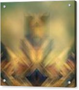 Blurred Abstract Colorful Background Acrylic Print