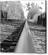 Blurred Track Acrylic Print