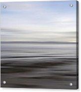 Blurry Shoreline Acrylic Print