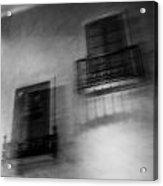 Blurry Shutters Acrylic Print