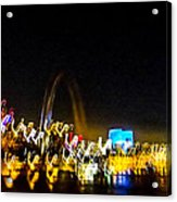 Blurry Waterfront 2 Acrylic Print