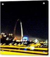 Blurry Waterfront 3 Acrylic Print