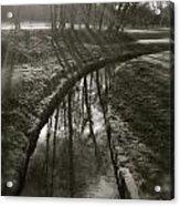 Blursunraysonbrookreflection Acrylic Print