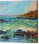 Blustery Day At Keehi Lagoon Acrylic Print