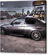 Bmw 335 Ci Twin Turbo Carbon Fiber Sports Car Acrylic Print