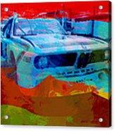 Bmw Laguna Seca Acrylic Print