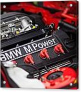 Bmw M Power Acrylic Print