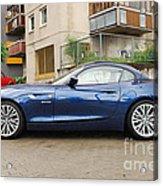 New Car On The Block Acrylic Print
