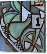 Bmx Freestyle Art Print Acrylic Print
