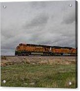 Bnsf Train 5833 B Acrylic Print