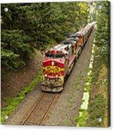 Bnsf Train 789 D Acrylic Print