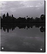 Bnw Cambodia Siem Reap 02 Acrylic Print