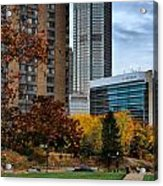 Bny Mellon From Duquesne University Campus Hdr Acrylic Print