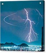 Bo Trek The Lightning Man Acrylic Print
