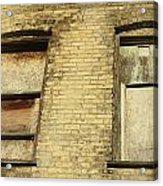 Boarded Windows 2 Acrylic Print