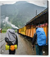 Boarding The Durango Silverton Narrow Acrylic Print