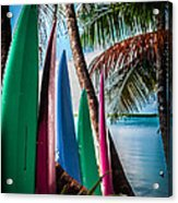 Boards Of Surf Acrylic Print
