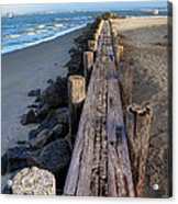 Boardwalk - Charleston Sc Acrylic Print