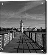 Boardwalk Lighthouse 1 Acrylic Print