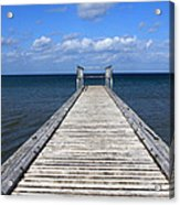 Boardwalk To The Ocean Acrylic Print
