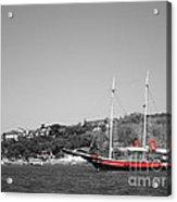 Boat At The Shore Acrylic Print
