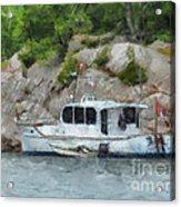 Boat Break Acrylic Print