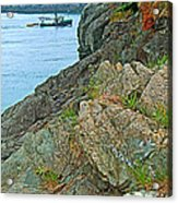 Boat By East Quoddy Bay On Campobello Island-nb Acrylic Print