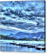 Boat Dock At Holter Lake Acrylic Print