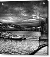Boat Dock At Sperry Chalet 2 Acrylic Print