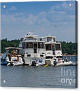 Boating Buddies Acrylic Print