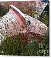 Boat Graveyard Peurto Natales Chile 6 Acrylic Print