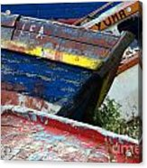 Boat Graveyard Peurto Natales Chile 7 Acrylic Print