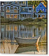 Boat In Late Afternoon Acrylic Print