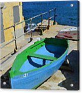Only A Boat And Everything Else Acrylic Print
