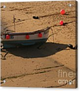 Boat On Beach 04 Acrylic Print by Pixel Chimp