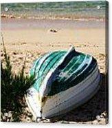 Boat On Devonshire Bay Beach Acrylic Print