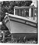 Boat Out Of The Water Acrylic Print