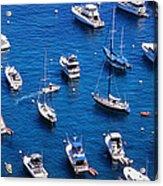 Boat Parking Acrylic Print