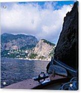 Boat Ride To Capri Acrylic Print