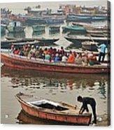 The Journey - Varanasi India Acrylic Print