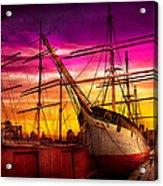 Boat - Sailing - Fleet Week Acrylic Print by Mike Savad